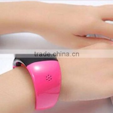 Smart Wear Handsfree Bluetooth Bracelet With Speaker Incoming Call Vibration Alert For Women Girls