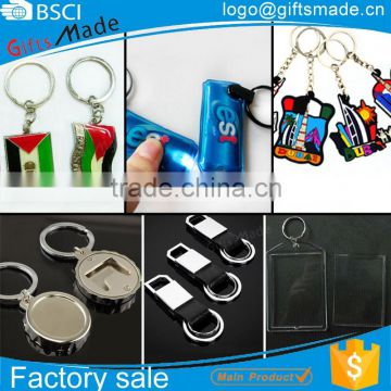 cheap custom made plastic acrylic souvenir fashion photo keychain,metal leather led bottle opener key chain flashlight