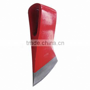 Axe Head, 47 to 55HRC/A603 , Large Eye Size, Made of 45# Carbon Steel, Drop-forged with Heat Treatment