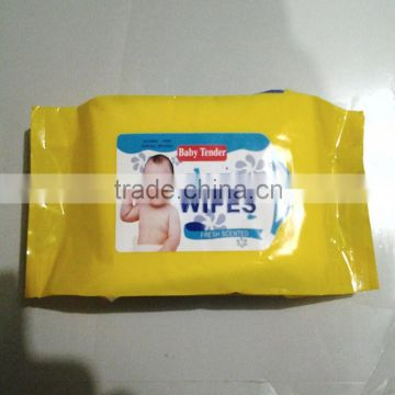 OEM baby wipes from Quanzhou manufacturer