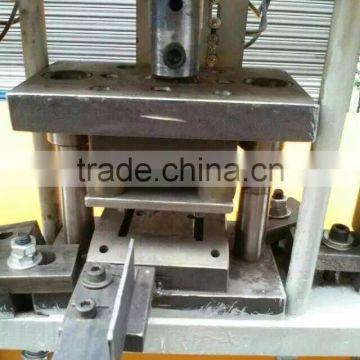 Copper tube punching machine /Pipe hole punch press machine