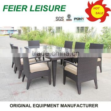 Hot sell european style chair with square table