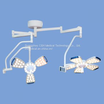 Hospital Operating Room Equipment Ceiling Double Arms LED Surgery Operating Lamps
