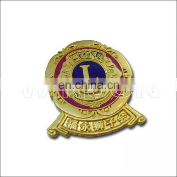 things imported from china metal badge