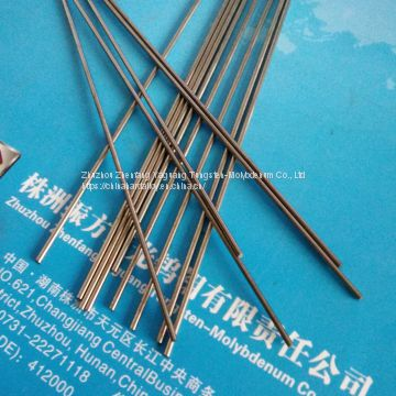 Zhuzhou Pure Tungsten Round Bars Rods