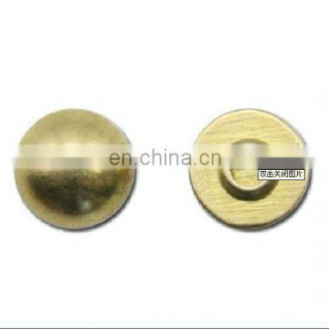 new style steel button head rivet for leather