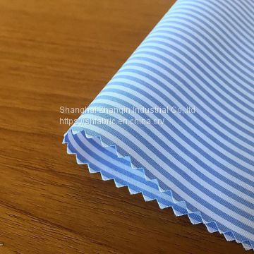 yarn dyed fancy woven mens shirt fabric stocklot  factory supply  wholesale 100% cotton dyed woven shirt fabric