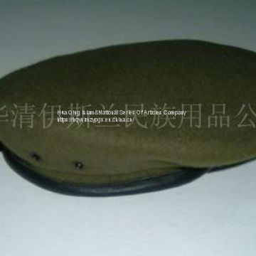 pure wool military beret  /  Pure Wool Beret  /  Pure Wool Beret