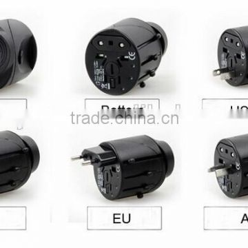 Multifunction portable mini world USB power socket converter plug adapter extension international travel adaptor for US UK AU