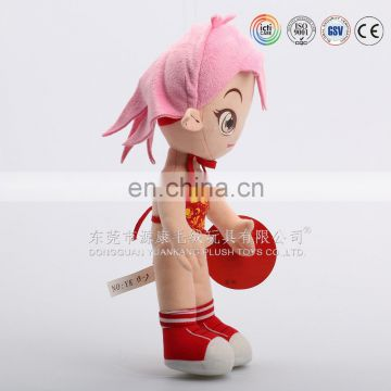 China manufacturer custom famous brand super sexy plush doll