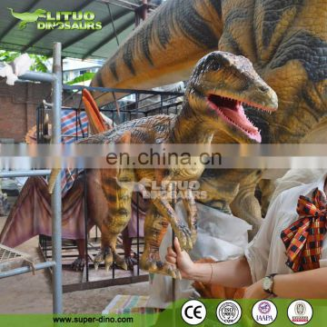 Baby Dinosaur Hand Puppet For Fun Entertainment Dinosaur