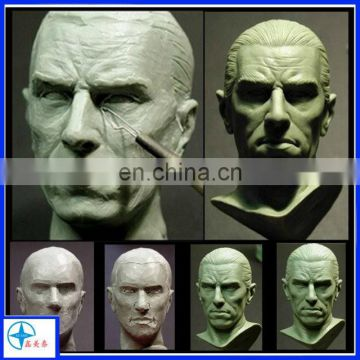 high quality resin handsome man bust model