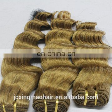 good quality deep wave brazilian remy hair extension,cheap blonde hair weft