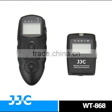 JJC WT-868 FSK 2.4G wireless timer remote control & wired remote switch For Canon TC-80N3 timer