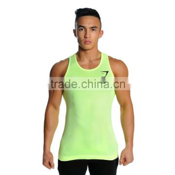51043eb34439a4 Direct Supplier for Gym Shark Men s Seamless Tank Tops Gym Shark Dri Fit  Fitness Shirts Wholesale