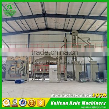 Hyde Machinery 5ZT sorghum seed processing production line