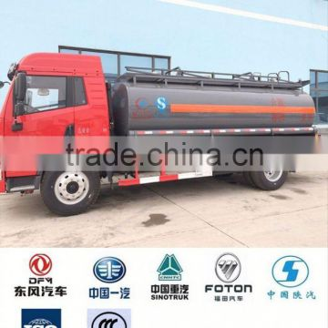 4x2 chemical tanker truck