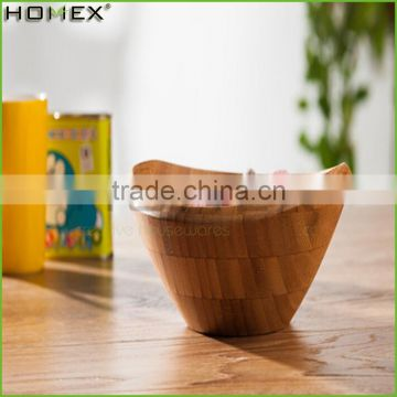Custom Design BSCI Approved Factory Low Cost Bamboo Salad Bowl/Homex_Factory