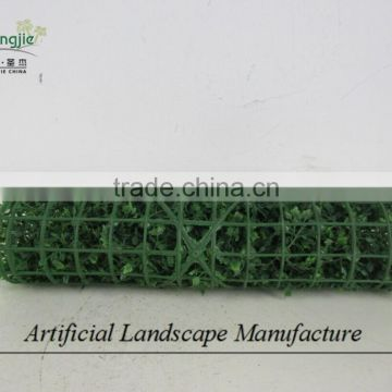 artificial boxwood carpet ,fake green hedge boxwood mat