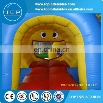 2017 new cartoon tiger inflatable fun city for sale
