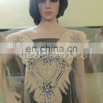 Latest Design For ladies african wedding dress lace blouse