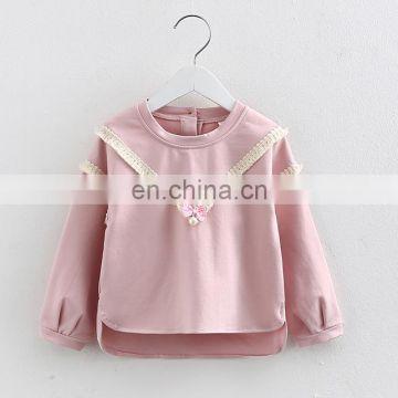 Wholesale Korean Kids T shirt OEM Children Clothes Girl