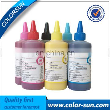 Hot Sale 100ml 500ml 1000ml Bulk Inkjet Printer Pigment ink