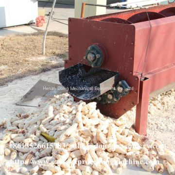 High speed automatic cassava peeling machine