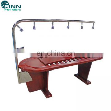 Beauty Equipment Wooden Shower Water Bed Hydrotherapy Massage Spa Equipment