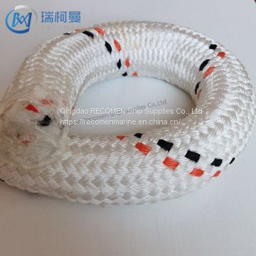 Recomen 8 strand braid pp mooring rope with high quality