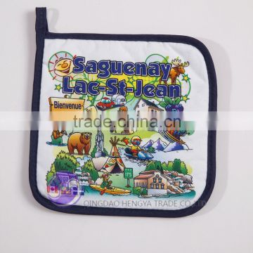 Custom digital printed cotton cheap pot holder                                                                         Quality Choice