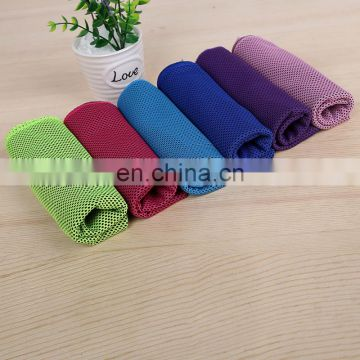 Wholesale excellent absorption microfiber sport cooling towel