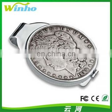 Winho Unique Money Clip with Coin Holder