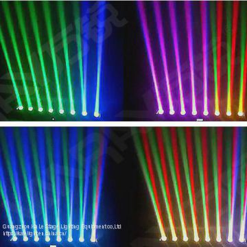 Nigh bar multi color led light bar 10W RGBW 4in1 eight eyes moving head beam bar
