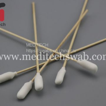 FOAM OVER COTTON SWABS WITH WOODEN STICK
