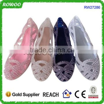 Hot sale Comfort EVA jelly sandals shoes for lady