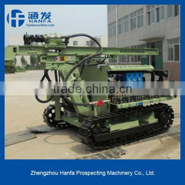Quality ensure!!Best after-self service!! HF100Y crawler hydraulic drilling machine