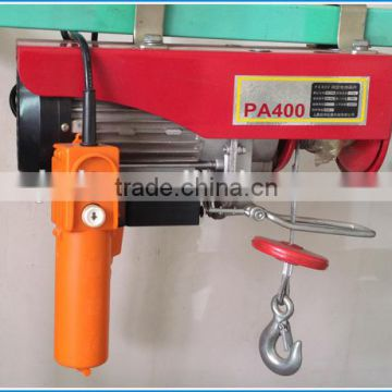 220V PA400 moved type mini electric hoist