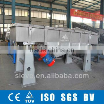 ISO high accuracy mechanical vibro screen shaker machine