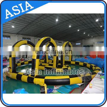 Inflatable Zorb Ball Race Track karting race track for sporting events