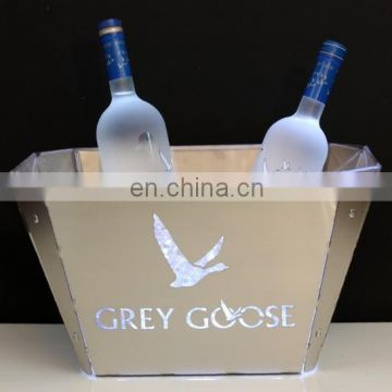 led lighted up vodka bottle Ice Bucket