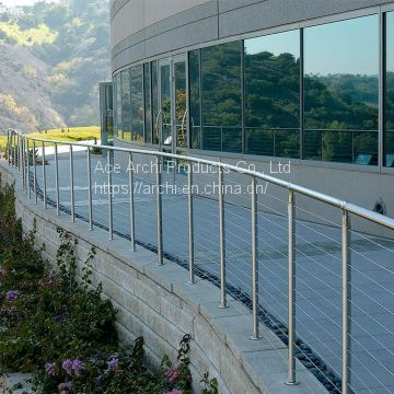 SUS316 Wire Cable Railing Balustrade for Fence Near to Sea Waterproof