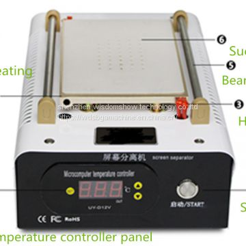 Touch Screen Glass Repair Separator Machine Vacuum LCD Separating Machine
