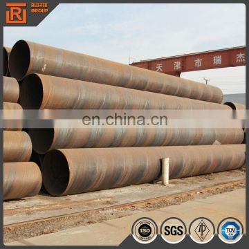 SSAW Spiral Welded Steel Pipes/steel tube,19 to 3500mm Outer Diameter