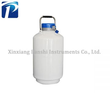 YDS-10Double layers 10L small capacity liquid nitrogen storage tank price