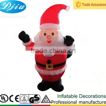 NEW Type 4' LED Christmas Airblown/Inflatable Santa Lighted Yard Decor