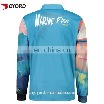 Custom Sublimated tournament Fishing shirts,fishing apparel,Sun protection clothing