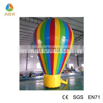 inflatable hot air balloon inflatable pvc balloon