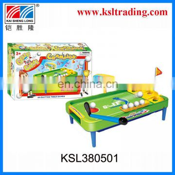 sport toy,funning kids table golf game