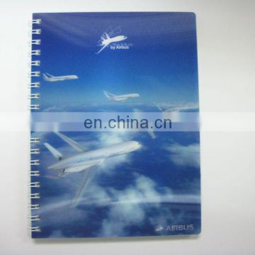 Hot selling 3d korean lenticular travelers notebook